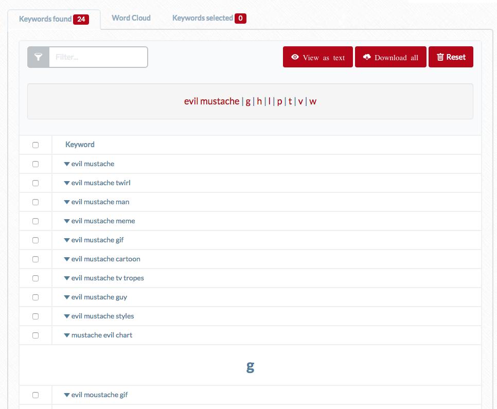 new ubersuggest tool april 2016