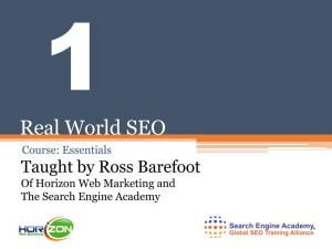 Real World SEO