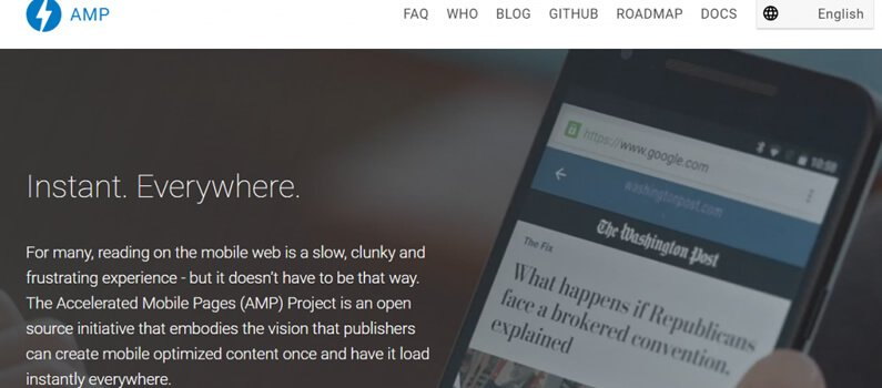 The Buzz About AMP: What Are Accelerated Mobile Pages?