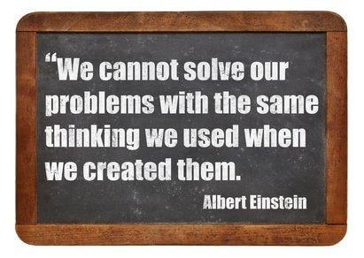 Einstein-Create-Quote