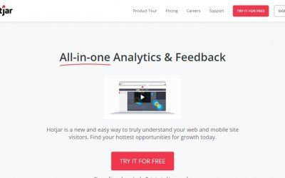 Use Hotjar For Analytics and Feedback