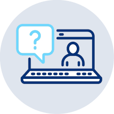 icon to represent virtual seo workshop session