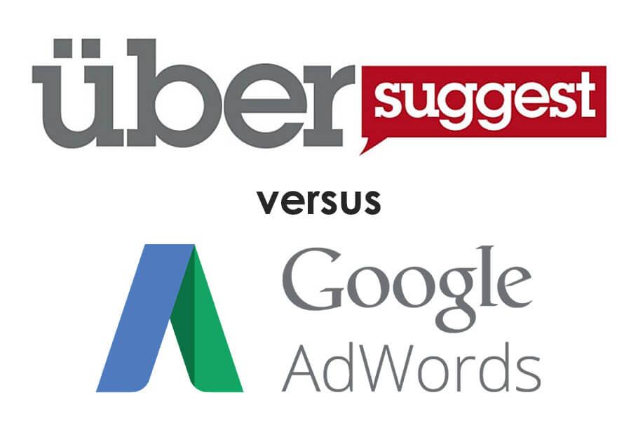 Ubersuggest versus Google Adwords Keyword Planner