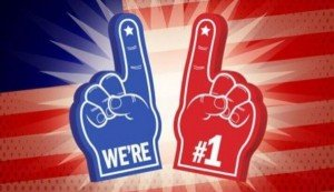We're Number 1